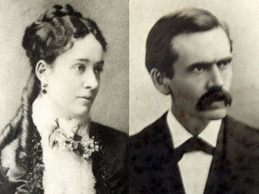 Annie Berry and Julius Trousdale
