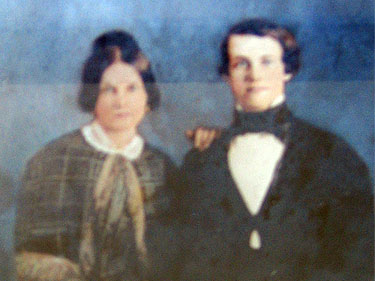 Maria Louisa Trousdale and Benjamin Franklin Allen