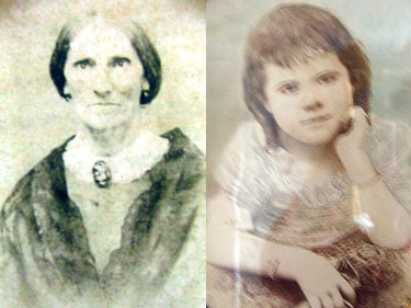 Mary Bugg and grand daughter Mary